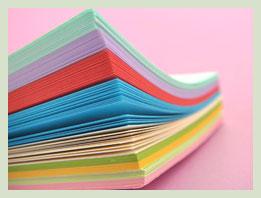 Paper terminology printing