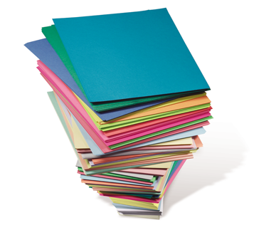 Stack-of-Colored-Paper