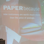 The Power of Paper…it's personal…it's profitable…it's sustainable…it's preferred